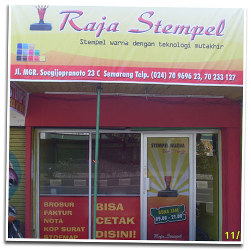 Raja Stempel - Pusat Cetak Stempel Warna Semarang